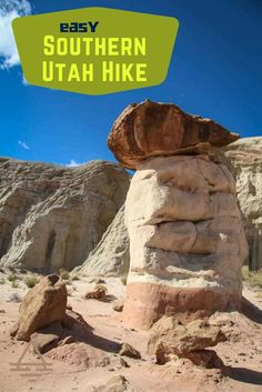 Check out this family-friendly hike in Southern Utah. Toadstools trailhead is located in Grand Staircase Escalante National Monument