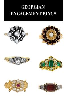 See 50 amazing vintage engagement  rings that are the chicest way to wear something old: Georgian rings