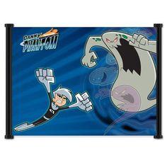 Danny Phantom Cartoon Fabric Wall Scroll Poster (21 x 16) Inches by StudioC, http://www.amazon.com/dp/B006Z4FYMY/ref=cm_sw_r_pi_dp_XgaUrb1S9KR9Z