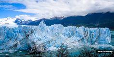 Der Perito Moreno Gletscher nahe El Calafate