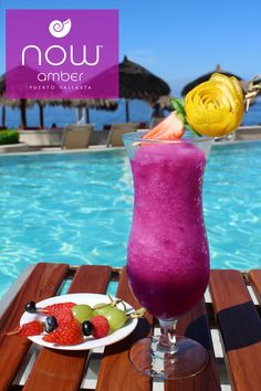 Enjoy a refreshing frozen cocktail while overlooking the waters of Now Amber. Now Amber Puerto Vallarta, Frozen Cocktails, Mexico Resorts