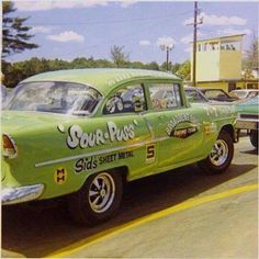 Jr Stock 55 Chevy