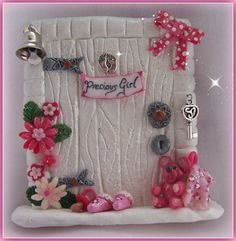 Precious Girl Fairy Door ( Herculite) FD126