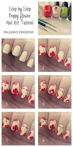 DIY red floral nails http://sulia.com/my_thoughts/19d5f513-4d01-44a4-905f-f5f5cdc96cb4/?source=pin&action=share&btn=small&form_factor=desktop&pinner=125515443