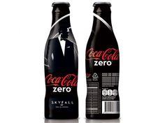 Coca-Cola zero Skyfall edition