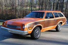 "Forgotten cars. 1977 Ford Pinto ""Woodie"