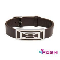 Global Wealth Trade Corporation - FERI Designer Lines Bracelets For Men, Jewellery Bracelets, Jewelery, Fashion Accessories, Fashion Jewelry, Stainless Steel Plate, Luxury Fashion, Mens Fashion, Selling On Pinterest