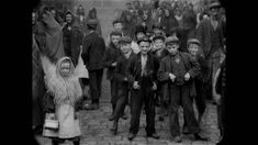 Did a second pass at adjusting speed/adding sound on this amazing old footage by Mitchell and Kenyon in North England The first time I uploaded this a . World History, Family History, Vintage Dance, Victorian Life, Young Baby, The Old Days, Working Class, Silent Film, Dance Music