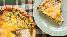 Mushroom, Spinach and Ham Quiche. Mushroom, spinach, ham and cheese create a creamy, rich and moist breakfast quiche in this easy to make recipe.