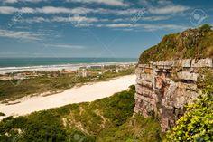 Beach of Morro dos Convetos, Ararangua City (Santa Catarina, Brazil)