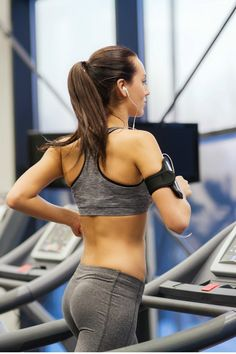 Stuck indoors this season? Try an efficient 30-Minute Fat-Blasting Treadmill Walking Workout to get your heart rate up, break a sweat, and stay in shape!