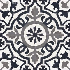I have been sourcing out tile for a design and I keep coming back to these beautiful detailed tiles. Cement tiles, also known as Encaustic tiles or Portuguese tiles have a long history and they are noted for their multi-color patterns, durability and. Bathroom Floor Tiles, Tile Floor, Basement Bathroom, Kitchen Backsplash, Wall Tiles, Encaustic Tile, House Tiles, Concrete Tiles, Style Tile