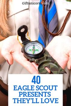 If you're searching for a perfect gift for the Eagle Scout in your life, look no further. From keepsakes to camping gear, you'll find a scouts gift you will be thrilled to give. No matter their age or your reason for the gift, you're certain to find something from this list your Eagle Scout will love! #eaglescouts #scouts #scoutsgifts #eaglescoutgifts #scoutslife #giftsforkids Survival Equipment, Survival Gear, Survival Skills, Survival Quotes, Camping Survival, Camping Equipment, Survival Prepping, Eagle Scout Gifts, Cool Gifts