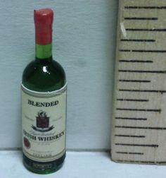 Irish Whiskey   Mary's Dollhouse Miniatures