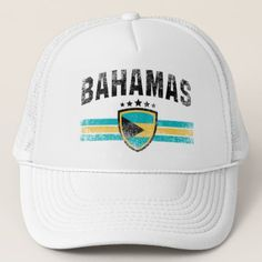 The Bahamas Trucker Hat - #customizable create your own personalize diy