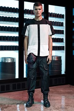 Alexander Wang Spring-Summer 2015 Men's Collection