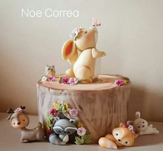 Baby Birthday Cakes, Biscuit, Buttercream Cake, Shower Cakes, Cake Toppers, Fondant, Woodland, Cake Decorating, Bakery