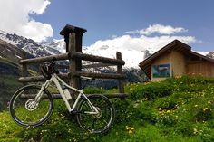 Bichlalm, Hintertux, Mountainbike, Sommer Environment, Summer, Nice Asses