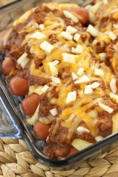 Chili Cheese Crescent Dogs and Pillsbury Crescent Rolls Recipes - Crescent Roll Ideas for Entrees, Snacks, Appetizers, Desserts and More on Frugal Coupon Living.
