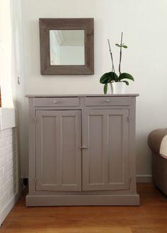 meuble peint gris poivré n°4 Leroy Merlin