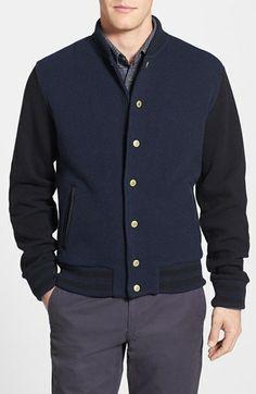 Woolrich John Rich '50's Letterman' Slim Fit Varsity Sweater Jacket | Nordstrom