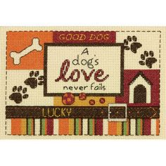Cross Stitch Craze: Puppy Dog Cross Stitch A Dogs Love never Fails
