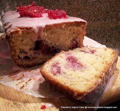 Raspberry Yoghurt Cake - recipe here: http://nononsensefood.blogspot.co.uk/2013/09/raspberry-yoghurt-cake.html