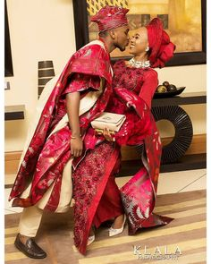 Love is a beautiful thing?may true love locate you wherever you are ? African Wedding Attire, African Attire, African Dress, African Clothes, Nigerian Wedding Dresses Traditional, Traditional Wedding Attire, Nigerian Outfits, Nigerian Bride, Latest African Fashion Dresses