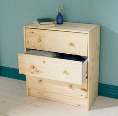 a ton of ways to jazz up an unfinished pine dresser  ($38.99) from Ikea