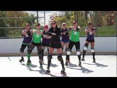 Derby Gangnam Style (Remake)  My Derby Family filmed with MY camera...Great Job Lansing Mitten Mavens