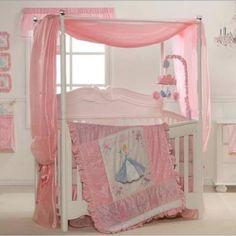 Disney princess bedding from Disney baby.
