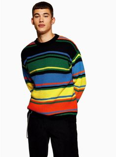 c6b4f6d433c3 Brighten up your knitwear collection with this rainbow knit · Neon ...