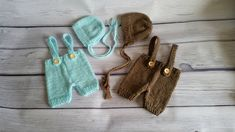Newborn suspenders pants shorties and bonnet hat in 50 colors,newborn photo prop, newborn boy photo outfit, boy girl knit set, newborn props Monogram Hats, Suspender Pants, Bonnet Hat, Personalized Baby Gifts, My Little Baby, Newborn Photo Props, Newborn Pictures, Newborn Gifts, Boy Or Girl