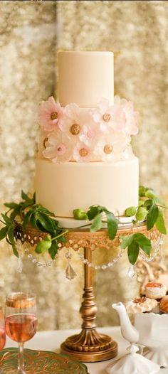 Wedding ● Cake ● Rose Gold by deana