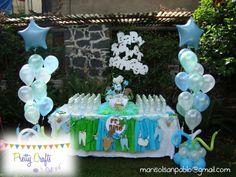 Mesa de baby shower
