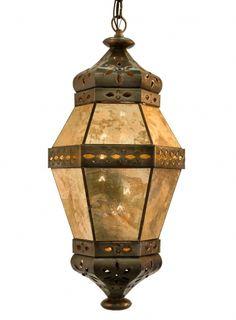 Hacienda lights and iron on pinterest for Hacienda style lighting