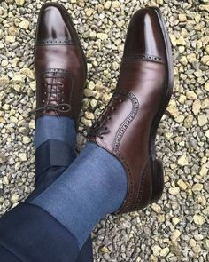 Handmade Men dark brown Oxfords leather dress shoes, Brown formal shoes for mens Leather Hiking Boots, Brown Leather Shoes, Leather Dress Shoes, Brown Oxfords, Men's Leather, Brown Formal Shoes, Mens Formal Shoes, Gentleman Shoes, Style Masculin