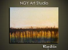 NGY   R Silva Original Modern Abstract by NGYartstudio on Etsy, $115.00