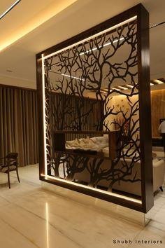 Home Decoration Ideas Easy .Home Decoration Ideas Easy Living Room Partition Design, Room Partition Designs, Room Door Design, Home Room Design, Home Interior Design, Living Room Designs, Interior Decorating, Partition Ideas, Living Room Divider