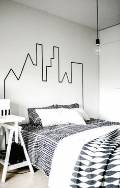 Hoofdeinde bed slaapkamer - THESTYLEBOX