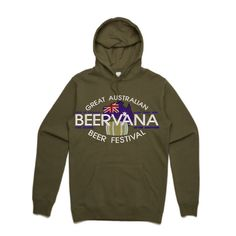 Great Australian Beer Festival Beervana Embroidery Army Green Hoodie Team AS Colour Stencil 5102 - Beer Hoodies,Funny Drinking Hoodies,Alcohol Hoodies,Alcohol Clothing,Funny Drinking Quotes,Funny Drinking Memes,Embroidery Hoodies,Typographic Hoodies,Graphic Hoodies,Alco Tops,Drunk,Here For Beer,Pilsner,Bier,Cerveza,Piwo,Miller,Fosters,Budweiser,Bud Light,Guinnes,Irish Pub,Pub Crawl,Cheers,Skål,Prost,Proost,Tchin,Fire In The Hole,Shirts,Sweatshirts,Beervana,Australia,Craft Beer,Festival