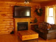 Sevierville Vacation Rental - VRBO 377448 - 3 BR East Cabin in TN, Renovated in 2014!!! Stay 6 Nights, Get 7th Night Free! XBOX 360
