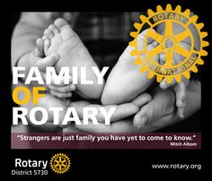 Rotary International Family of Rotary Poster - by CMC Yet To Come, Rotary, Rocks, Poster, Graphics, Studio, Ideas, Graphic Design, Studios