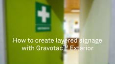 How to create layered signage with Gravotac Exterior Choose 2 sheets of Gravotac Exterior and glue them together. Cut out your sign design on the first sheet. Use more power to cut both sheets in one pass to create the final size of your sign. Plastic Material, Sign Design, Signage, Exterior, Create, Videos, Billboard, Outdoor Rooms, Signs