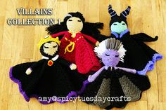 spicy tuesday crafts: Villains Collection 1