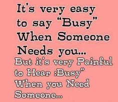 Busy?...