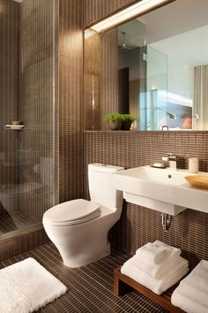 Soho Boutique Hotel New York Images | The James New York | Ann Sacks ceramic tiles