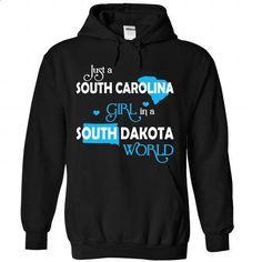 A SOUTH CAROLINA-SOUTH DAKOTA girl Blue03 - #birthday shirt #boyfriend tee. I WANT THIS => https://www.sunfrog.com/States/A-SOUTH-CAROLINA-2DSOUTH-DAKOTA-girl-Blue03-Black-Hoodie.html?68278