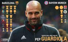 Pep Guardiola Trophy Haul