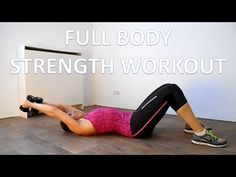 20 Minute Full Body Strength Workout For Beginners - YouTube